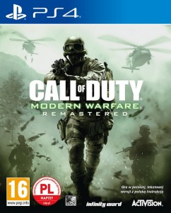 PS4 Call of Duty Modern Warfare Remastered PL