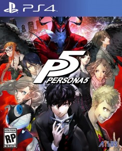 PS4 Persona 5 SteelBook Launch Edition
