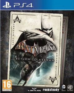 PS4 Batman Return To Arkham PL