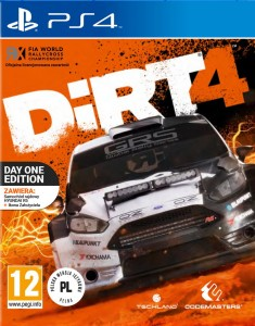 PS4 DIRT 4 PL