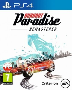 PS4 Burnout Paradise Remastered PL
