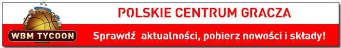 Polskie centrum gracza World Basketball Manager Tycoon