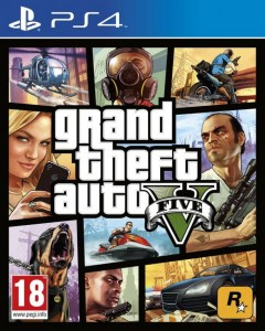 PS4 Grand Theft Auto V PL