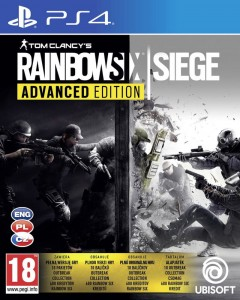 PS4 Tom Clancy's Rainbow Six Siege Advanced Edition PL
