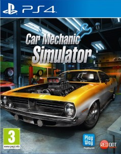 PS4 Car Mechanic Simulator PL