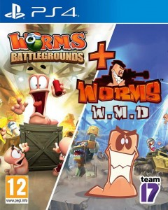 PS4 Worms Battlegrounds + Worms W.M.D.