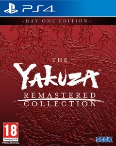 PS4 The Yakuza Remastered Collection