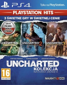 PS4 Uncharted Kolekcja Nathana Drake'a