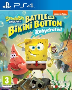 PS4 SpongeBob Battle for Bikini Bottom Rehydrated