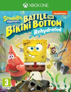 XONE SpongeBob Battle for Bikini Bottom Rehydrated