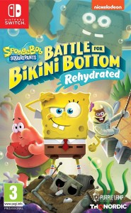 SWITCH SpongeBob Battle for Bikini Bottom Rehydrated