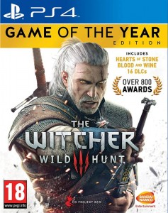 PS4 Witcher 3 GOTY Edition PL/ANG