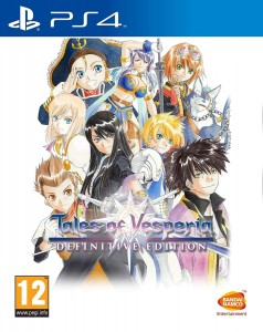 PS4 Tales of Vesperia Definitive Edition