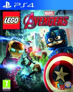 PS4 Lego Marvel Avengers PL