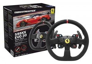 THRUSTMASTER 599XX EVO 30 Alcantara Wheel Add-on