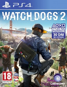 PS4 Watch Dogs 2 PL