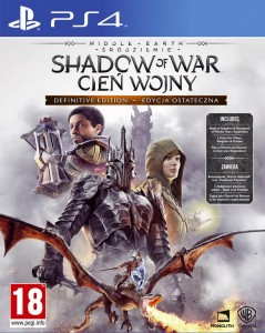 PS4 Middle Earth Shadow of War Cień Wojny Definitive Edition PL