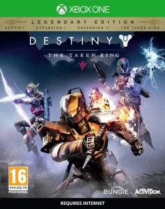 XONE Destiny The Taken King Legendary Edition