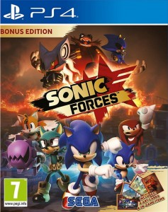 PS4 Sonic Forces PL BONUS Edition