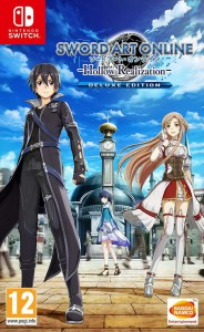 SWITCH Sword Art OnLine Hollow Realization DeLuxe