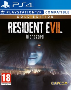 PS4 Resident Evil 7 Biohazard PL Gold Edition
