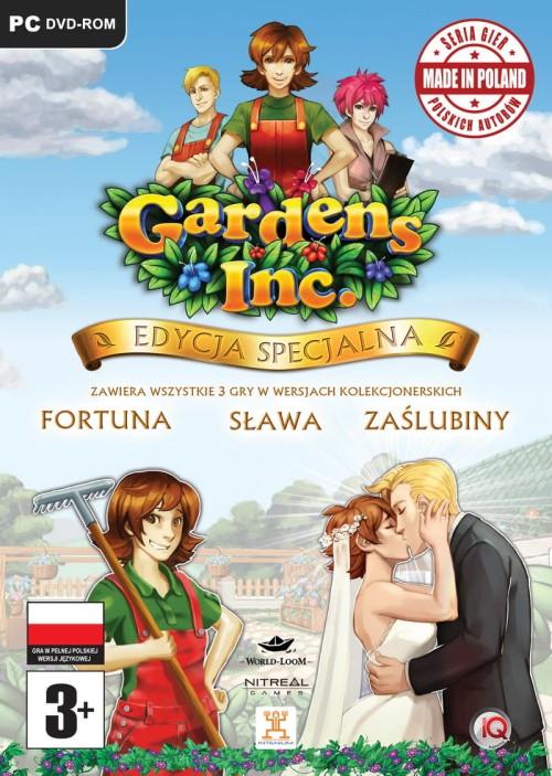 Bardzo dobra Gardens Inc PL Edycja Specjalna EXERION.PL QK45